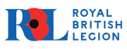RBL logo with blues and reds